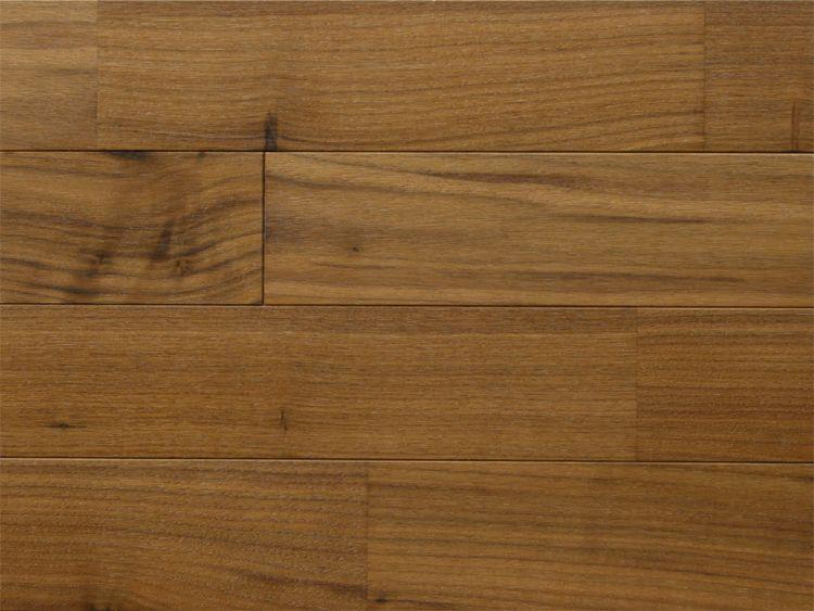 画像1: アメリカンブラックウォールナット無垢フローリング床暖房用UNI12ミリ厚・ウレタン塗装1820×75×12 (1)