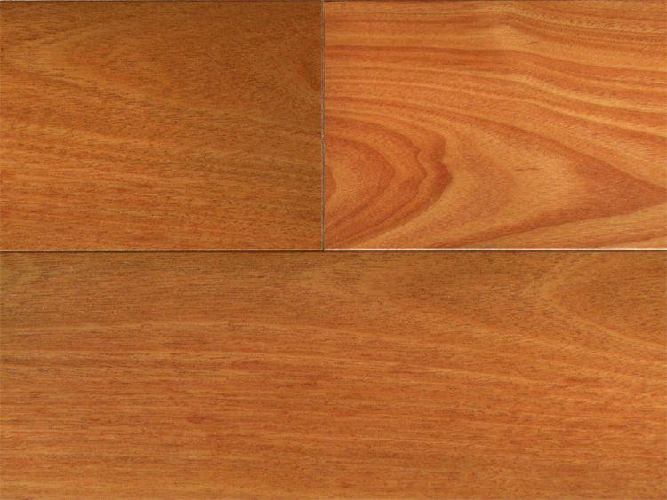 画像1: 複合フローリング マホガニー 床暖房対応 ウレタン塗装 乱尺×125×14 (1)