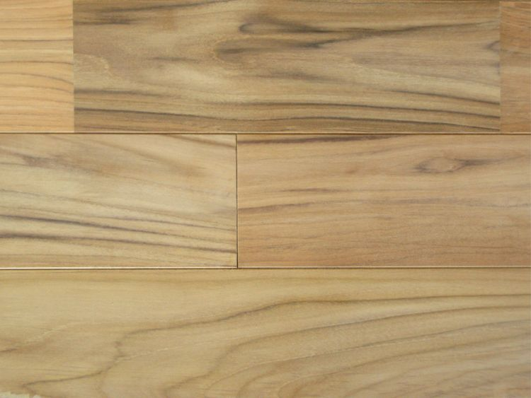 画像1: ラオスチーク無垢フローリングUNI・無塗装1820×90×15 (1)