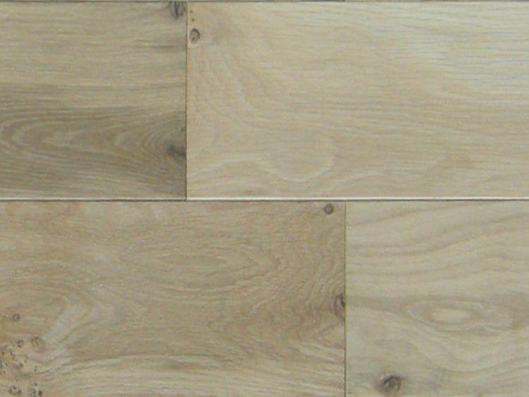 画像1: ホワイトオーク無垢フローリング・幅広ラステック・無塗装 乱尺×150×15 (1)
