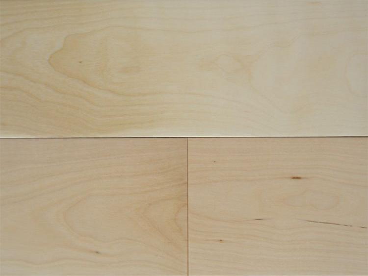 画像1: 複合フローリング ExEfloor カバ(バーチ) 床暖房対応 ウレタン塗装 909×120×12 (1)