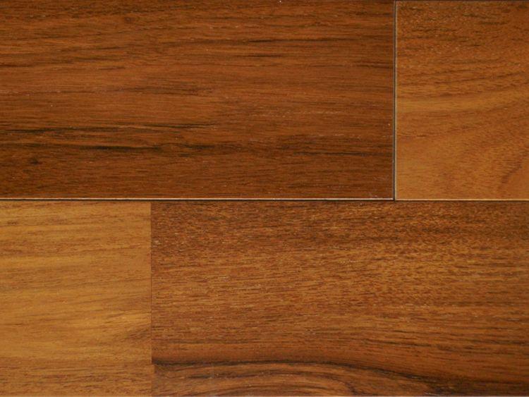 画像1: 複合フローリング ミャンマーチーク UNIタイプ・ウレタン塗装・床暖房対応 1820×120×12 (1)