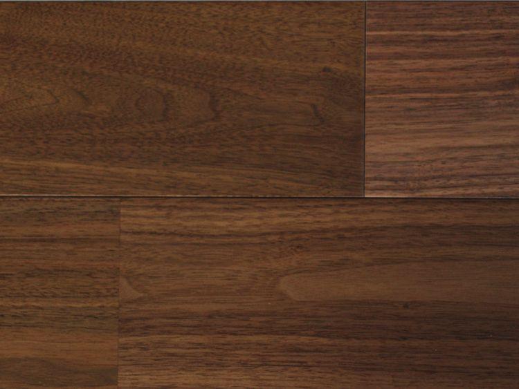 画像1: 複合フローリング アメリカンブラックウォールナット UNIタイプ・ウレタン塗装・床暖房対応 1820×120×12 (1)