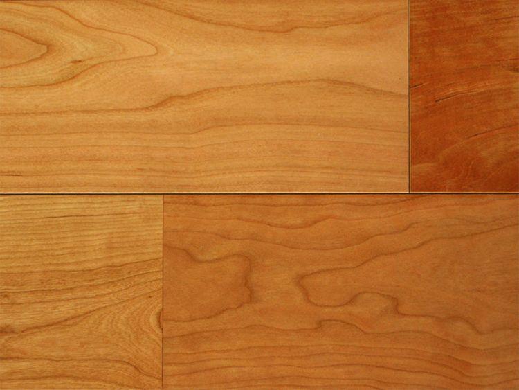 画像1: 複合フローリング アメリカンブラックチェリー UNIタイプ・ウレタン塗装・床暖房対応 1820×120×12 (1)