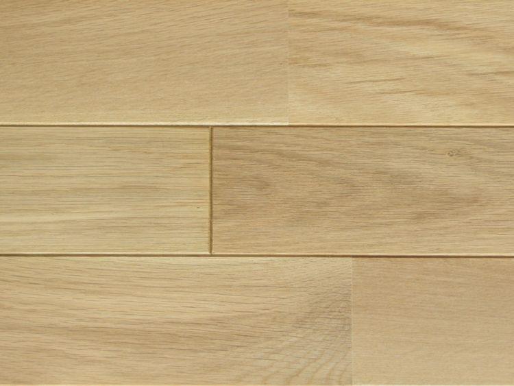画像1: ナラ無垢フローリング床暖房用UNI・Sグレード・無塗装1818×90×15 (1)