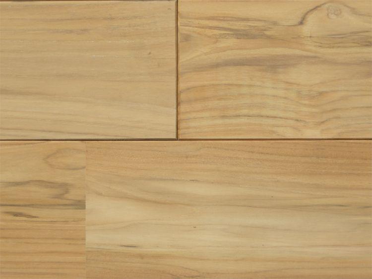 画像1: ラオスチーク無垢フローリングUNI・無塗装1820×120×15 (1)