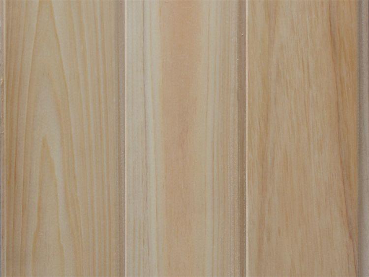 画像1: 桧パネリング 無塗装 無地・上小 2000×80×10 (3.2m2) (1)