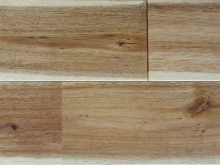 画像1: ベトナムアカシア無垢フローリングUNI・Nグレード自然塗料塗装 1820×120×15 (1)