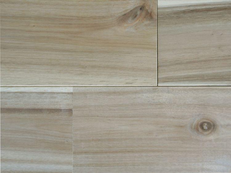 画像1: ベトナムアカシア無垢フローリングUNI・Nグレード無塗装 1820×120×15 (1)