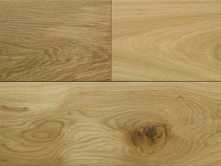 画像1: ヨーロピアンオーク幅広・無垢フローリング乱尺・自然塗料塗装Nグレード 乱尺×150×15 (1)