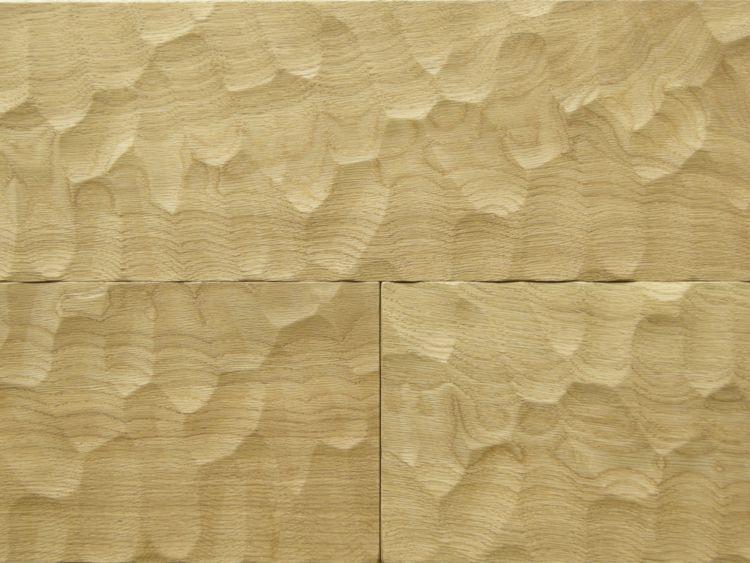 画像1: オーク複合フローリング スプーンカット 床暖房対応 無塗装 1818×150×15 (1)