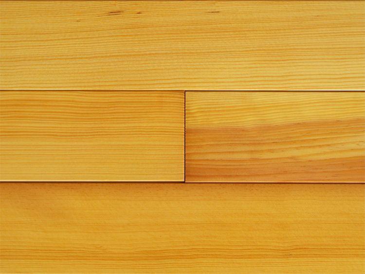 画像1: ラオス松無垢フローリング 柾目・源平 OPC ウレタン塗装クリア 1820×90×15 (1)