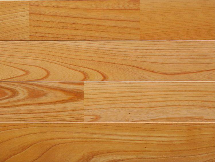 画像1: ケヤキ無垢フローリング床暖房用UNI・ウレタン塗装1818×75×15 (1)