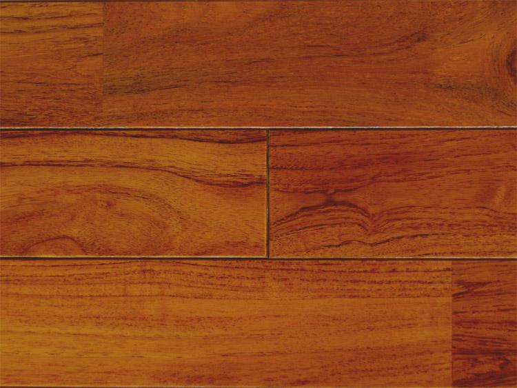 画像1: チーク無垢フローリングUNI・ウレタン塗装1820×90×15 (1)