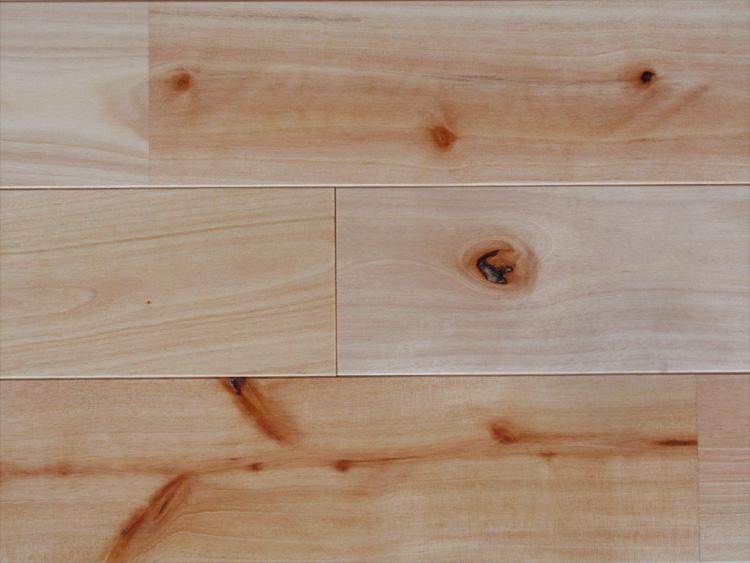 画像1: 西南桜無垢フローリング【節有】UNI・自然塗料塗装1820×90×15 (1)
