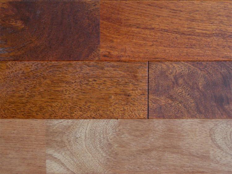 画像1: メルバウ無垢フローリングUNI・自然塗料塗装1820×90×15 (1)