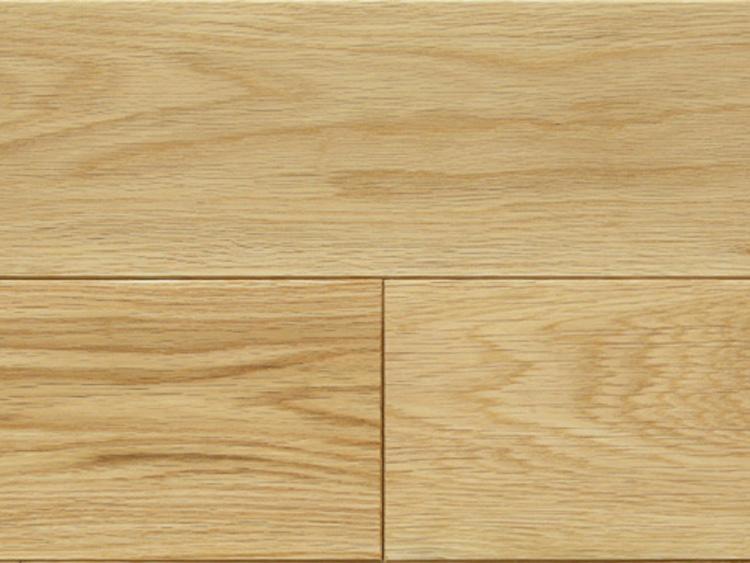 画像1: 北海道産ナラ幅広・無垢フローリング乱尺・自然塗料塗装 乱尺×120×15 (1)