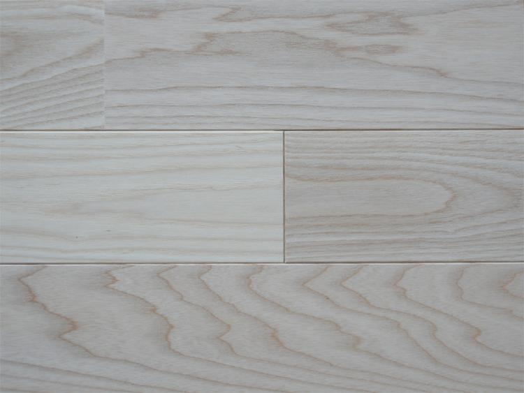画像1: ホワイトアッシュ無垢フローリングUNI・無塗装1820×90×15 (1)