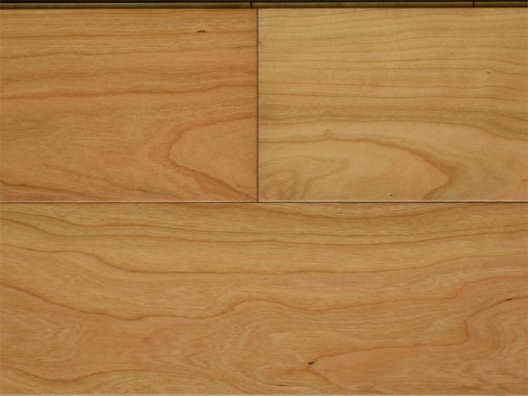 画像1: 複合フローリング ExEfloor アメリカンブラックチェリー 自然塗料塗装・床暖房対応 909×120×12 (1)