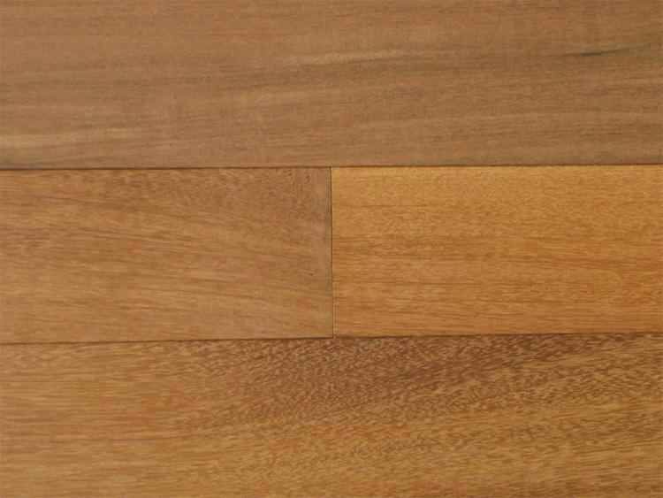 画像1: ウリン無垢フローリング乱尺・無塗装 乱尺×90×15 (1)