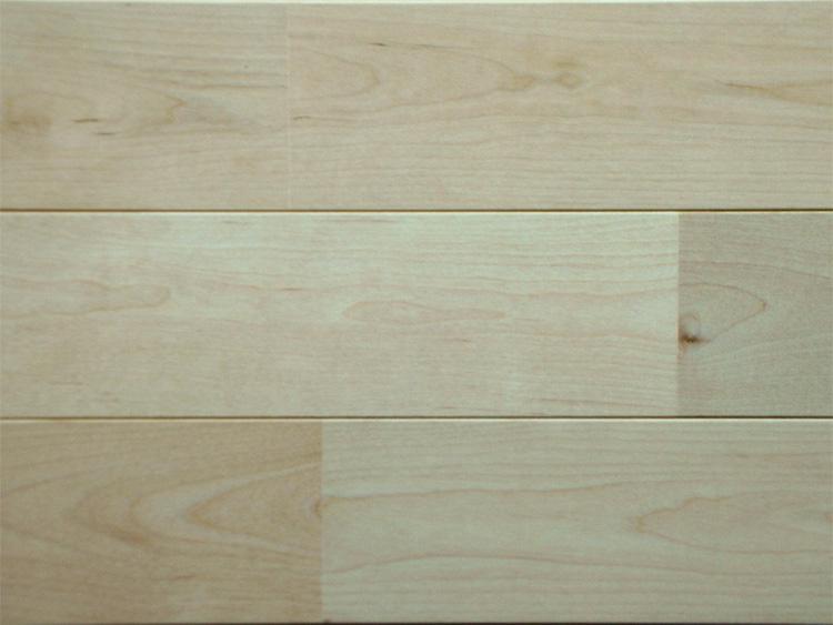 画像1: カバ桜無垢フローリングUNI・無塗装1820×90×15 (1)