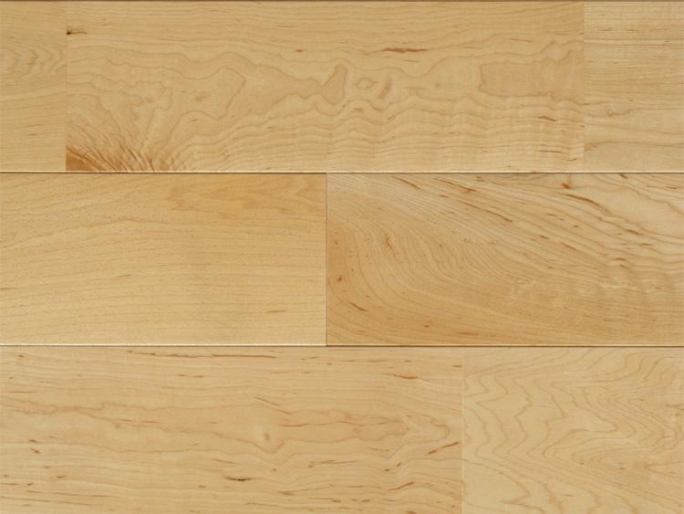 画像1: メープル無垢フローリングUNI・ウレタン塗装1820×90×15 (1)