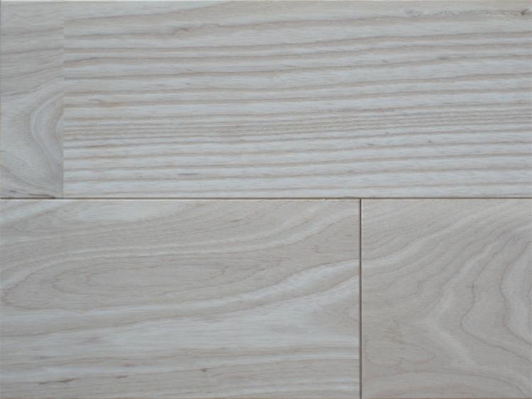 画像1: ホワイトアッシュ幅広無垢フローリングUNI・無塗装1820×130×15 (1)