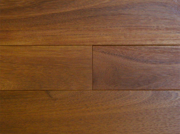 画像1: ウリン無垢フローリング乱尺・自然塗料塗装 乱尺×90×15 (1)